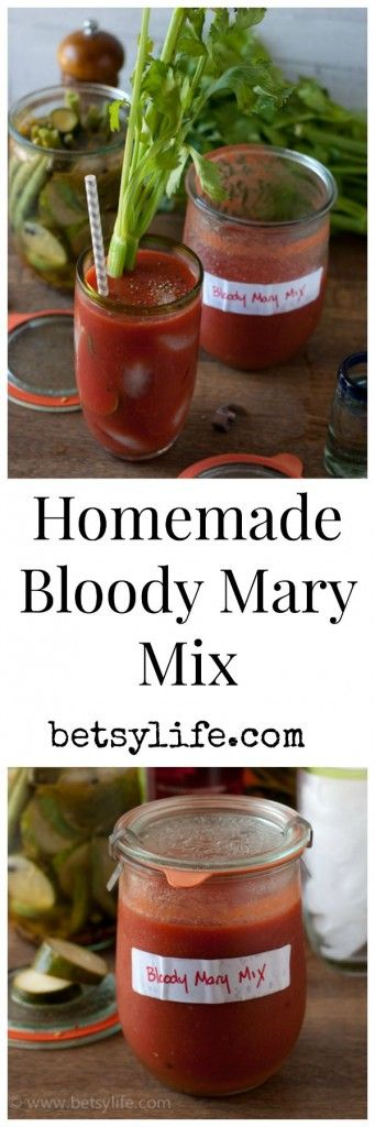 My favorite recipe to utilize my tomato bounty. Homemade bloody Mary mix!