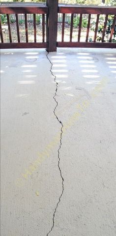 Fixing a Cracked Concrete Patio Slab #DIY