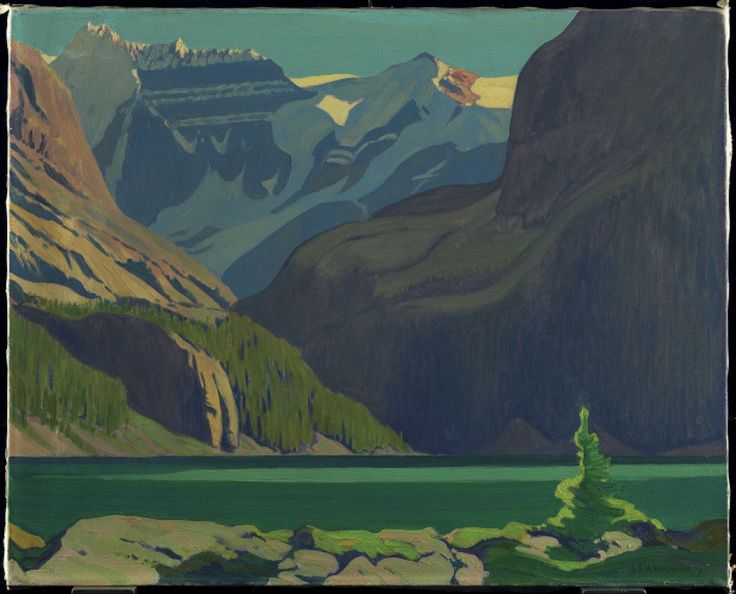 Lake O'Hara, J.E.H. MacDonald (Group of Seven)