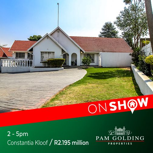 On Show Sunday 23 October from 2 - 5pm. Click for more information. #OnShow #ForSale #ConstantiaKloof