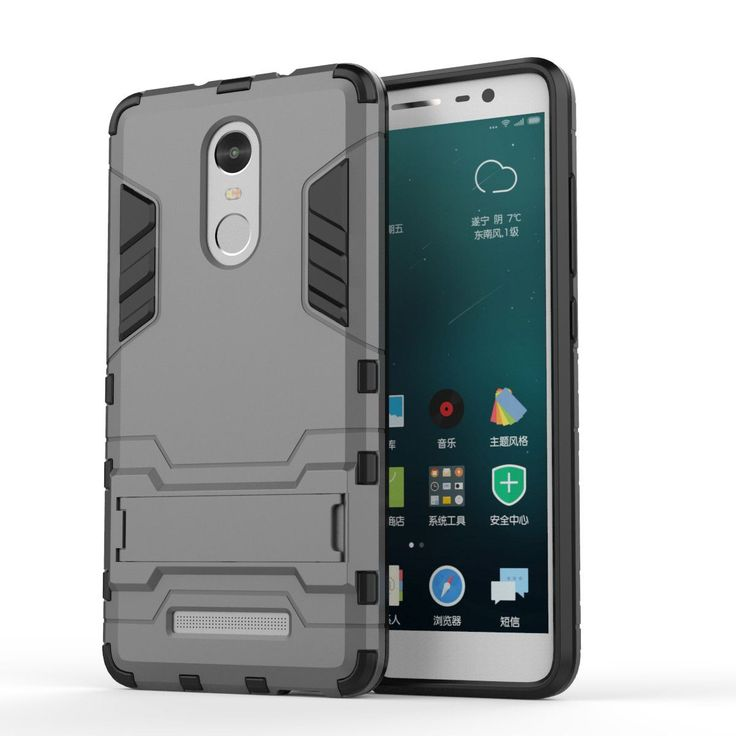 For Xiaomi Redmi Note 3 Case Slim Phone Case Shockproof Robot Armor Hybrid Rubber Hard Back Cover For Redmi Note 3 Pro Prime (<