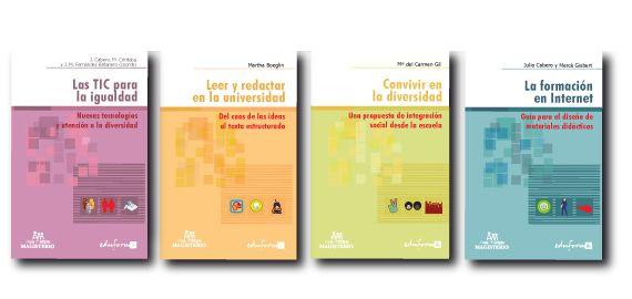 Diseño portadas colección de libros