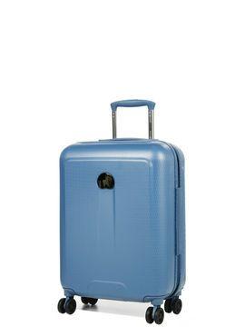 Valise cabine rigide Helium Air 2 Slim 55 cm Bleu
