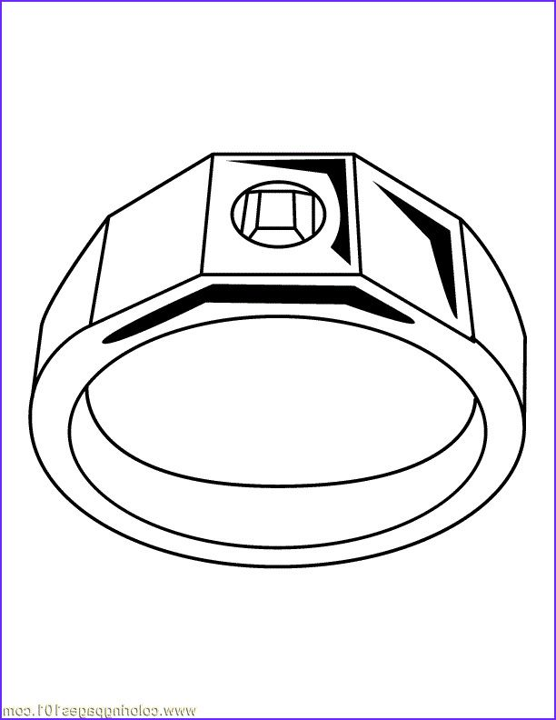 45 Cool Collection Of Jewelry Coloring Pages Ring Sketch Drawing Clipart Coloring Pages