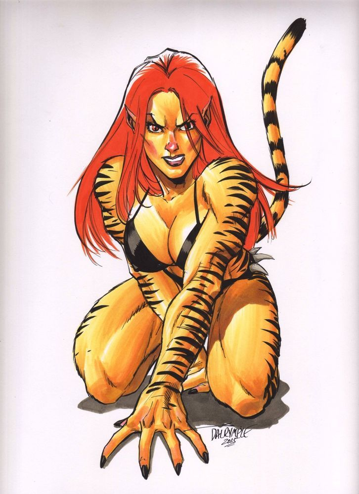 201 best images about Tigra | Greer Nelson on Pinterest