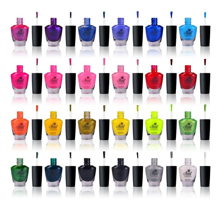 The Cosmopolitan Nail Polish set - Pack of 24 Colors - Premium Quality & Quick Dry | SHANY Cosmetics