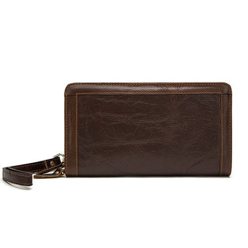 MARRANT 2016 Genuine Leather Men Wallets New Man Wallet Double Zipper Men Purse Fashion Male Long Wallet Man's Clutch Bag 9013
