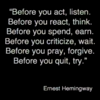 Before you..