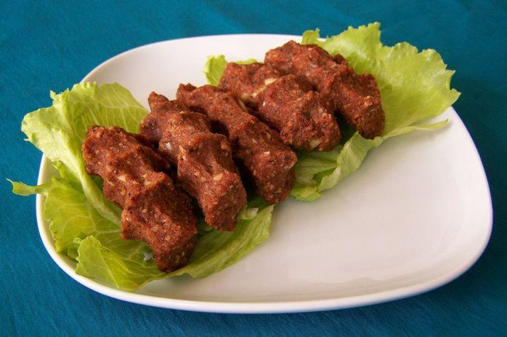 cig kofte met noten, vegetarisch, veganistisch, koolhydraatarm - vegetus