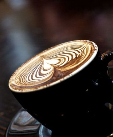 That is gorgeous. I'd still drink it, but it would take me a minute...you know, out of respect ;) #coffee #art #foam