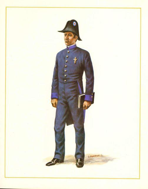 MINIATURAS MILITARES POR ALFONS CÀNOVAS: CHILE CAPELLAN  MILITAR , 1837.