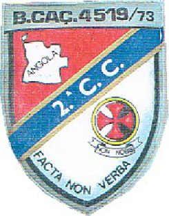 2ª Companhia de Caçadores do Batalhão de Caçadores 4519/73 Angola
