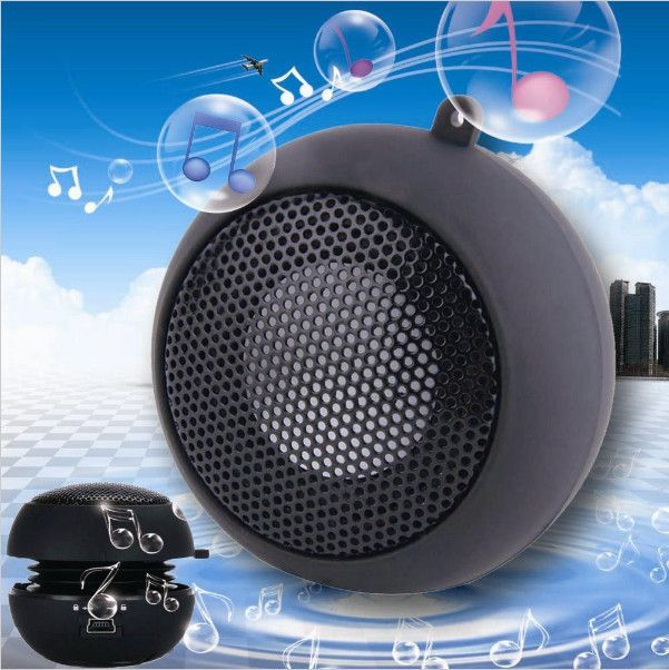 Mini Portable Hamburger Speaker For iPod iPhone Tablet Laptop PC MP3 wifi powered speakers usb speakers sounding louder