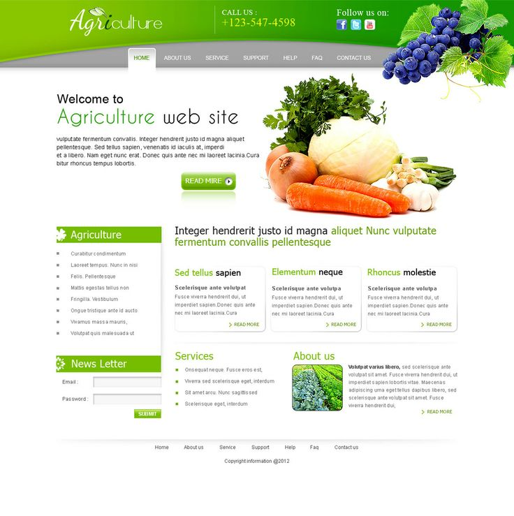 Buy Agriculture Templates Price Only 9.99$  http://templatesgarden.com/agriculture-c-23.html