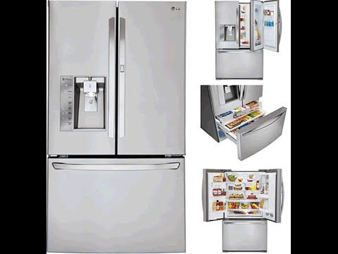 Spt Countertop Dishwasher Youtube : Review of the LG LFXS30766S 30.0 Cu. Ft. French Door Refrigerator! One ...