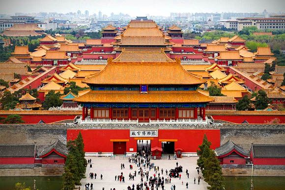 The Forbidden City, Bejing, China - visited