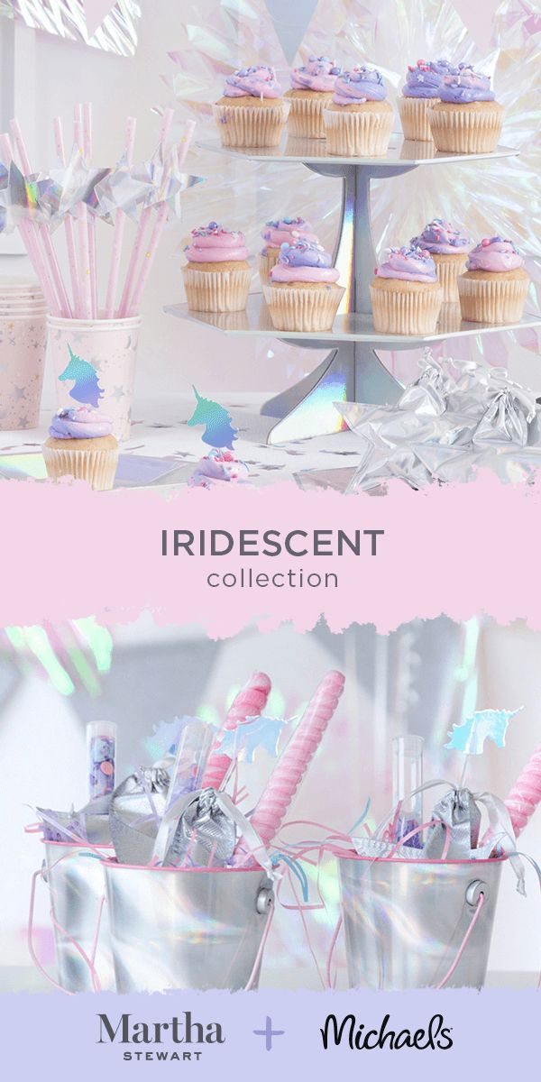 craft ideas homemade bridal shower decoration%0A This Iridescent party look is all about magical cotton candy hues  Check  out decorations