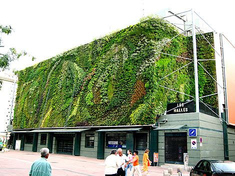 Vertical Garden: The art of organic architecture: Green Building, Patrick'S White, Living Wall, Landscape Architecture, Green Wall, Gardens Wall, Vertical Gardens, Hanging Gardens, Wall Gardens