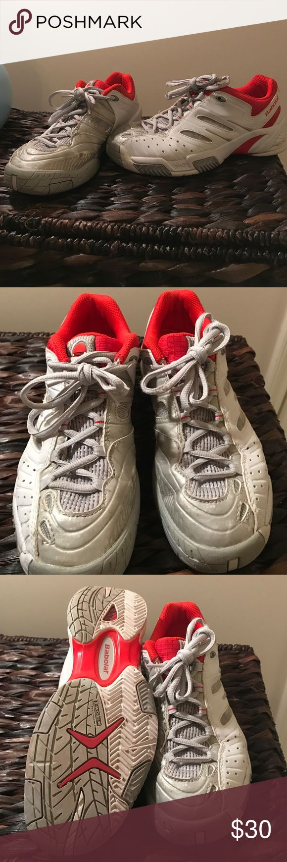 BABOLAT tennis sneakers sz 7.5 EUC Excellent condition, size 7.5. Non marking Michelin sole, meant for the tennis court! Nike Shoes Athletic Shoes