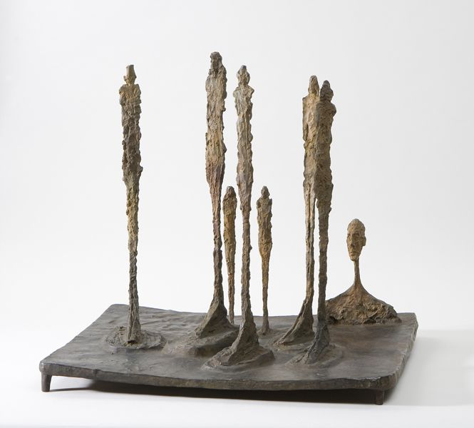 The Forest, 1950 Giacometti