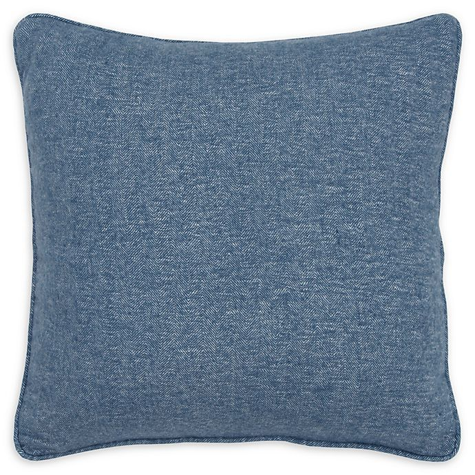 Rizzy Home Solid Pintucked Square Throw Pillow Bed Bath Beyond Rizzy Home Pillows Throw Pillows