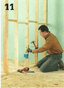 12 Steps - How to build a partition wall (Page 2) | ehowdiy.com