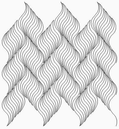 Modern Quilting Designs - nice variation of the McTavishing