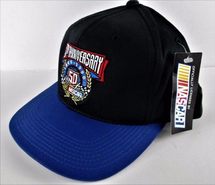 NASCAR Hat 50th Anniversary 1948-1998 Adjustable Snapback Baseball  Cap NEW tags #CompetitorsView
