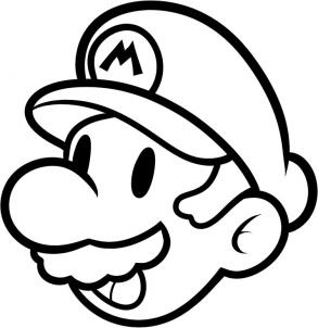 how to draw mario easy step 7
