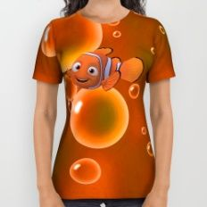 Finding Nemo All Over Print Shirt