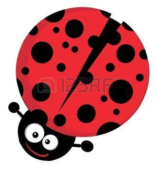 ladybug cartoon: Lady Bug Cartoon Character Illustration
