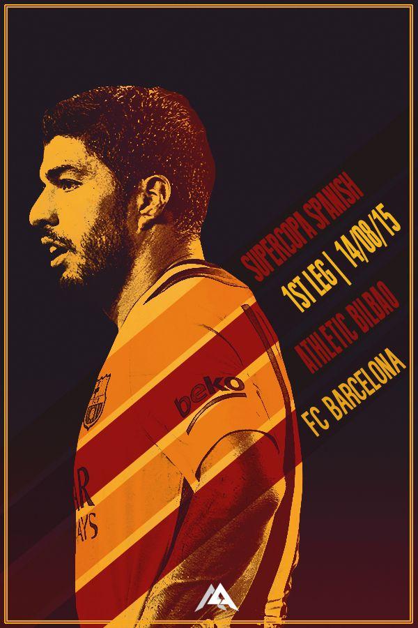 Match poster: Athletic Bilbao vs FC Barcelona