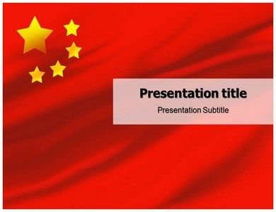 31 best business powerpoint templates images on pinterest a great template showing the national flag and an editable map of china toneelgroepblik Image collections