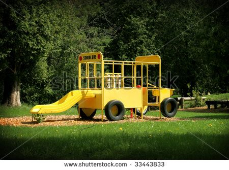 8 Best School Bus Playground Images On Pinterest School
