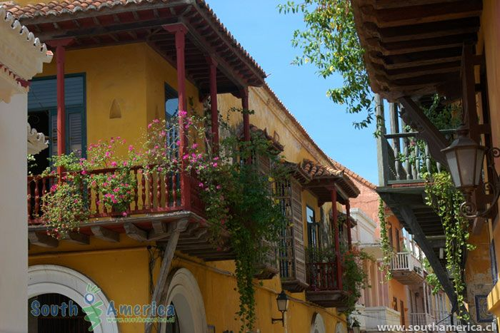 Cartagena Colombia - Colonial Architecture
