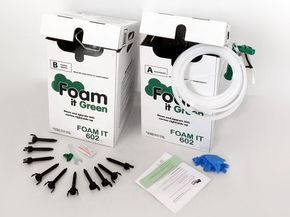 Closed cell spray foam insulation kits that are easy to use. Proven in 35,727 homes. Comes with 17 Free Extras and 24x7x365 Customer Support.