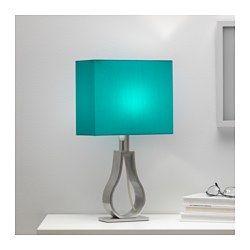 IKEA - KLABB, Lampe de table, Créez une atmosphère chaleureuse et accueillante dans votre intérieur grâce à cet abat-jour en tissu qui propage une lumière diffuse et décorative.