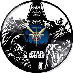 VINYL PLANET Wall Clock STAR WARS 2