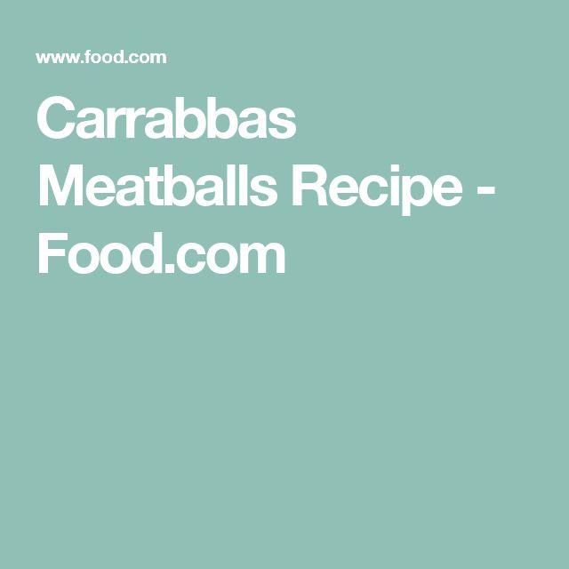 Carrabbas Meatballs Recipe - Food.com