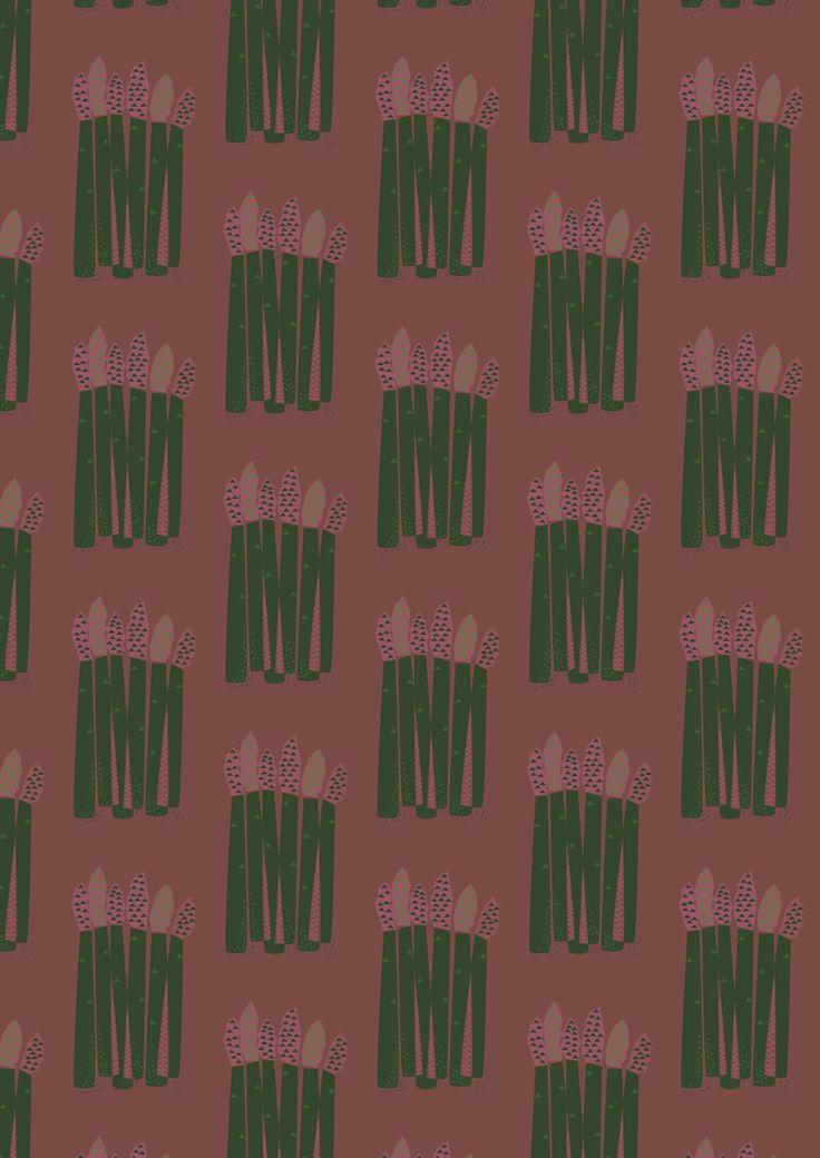 Asparagus pattern