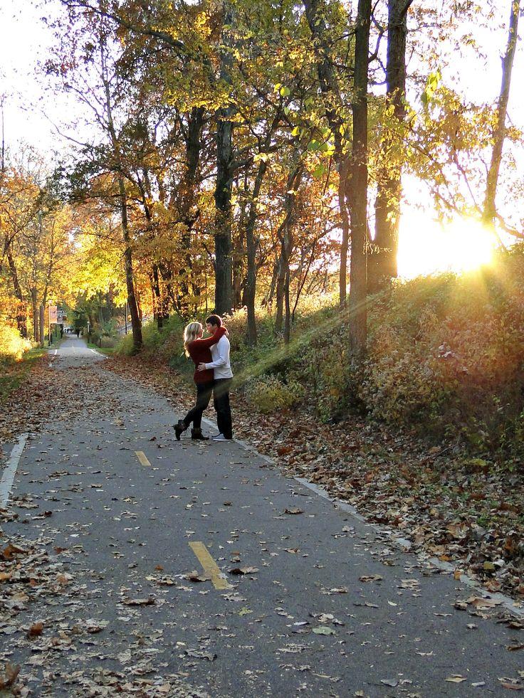 fall couple photography