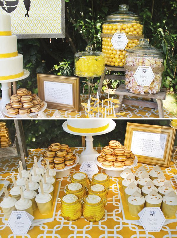 Adorable Baby Bumble Bee Party // Hostess with the Mostess®