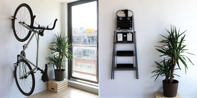 les 25 meilleures id es de la cat gorie accroche velo sur. Black Bedroom Furniture Sets. Home Design Ideas