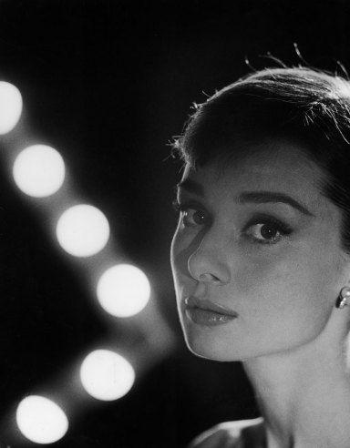 Audrey Hepburn, 1956.  Allan Grant Time & Life