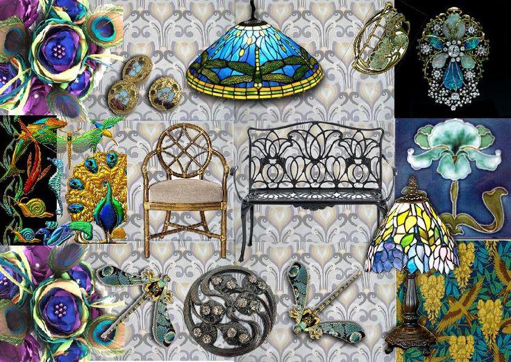 21 Best Art Nouveau Images On Pinterest