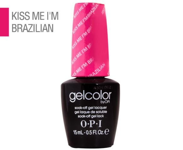 OPI GelColor Lacquer - Kiss Me I'm Brazilian 1 $17.99