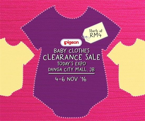 4-13 Nov 2016: Pigeon Clearance Sale