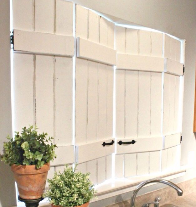 This is an adorable alternative for blinds. So creative.