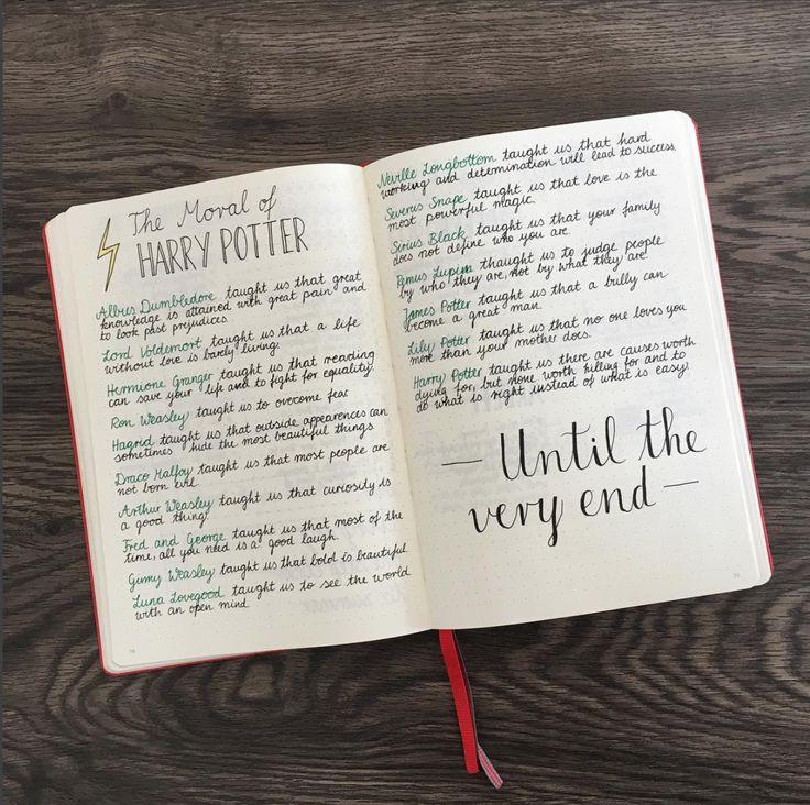 Luna Lovegood und ihr Bullet Journal [Harry Potter Special]