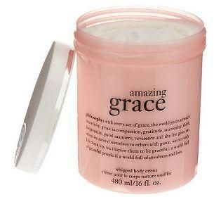 Indulge in philosophy's amazing grace whipped body creme!